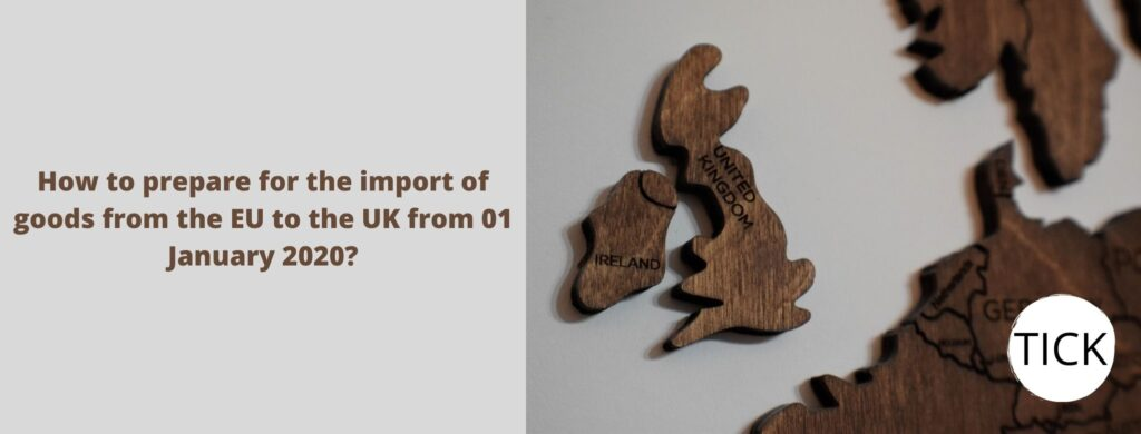 import of goods from the EU to UK